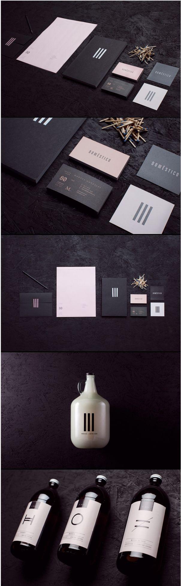 Cool Brand Identity Design on the Internet. Domestico. #branding #brandidentity #identitydesign @ http://www.pinterest.com/alfredchong/brand-identity/