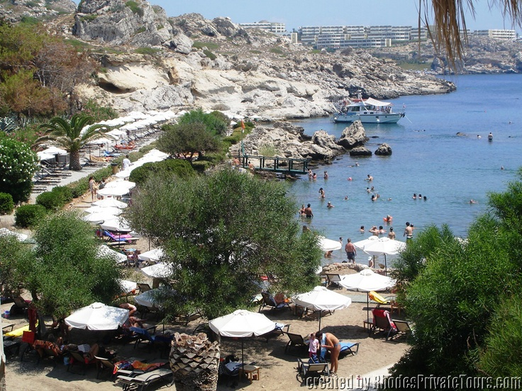Kallithea Beach - Rhodes Island Greece
