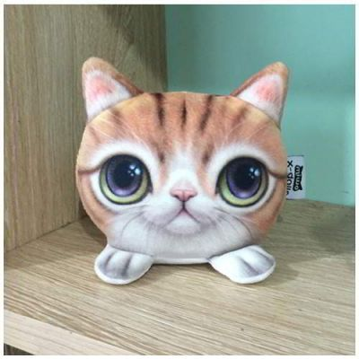 Kitten Big Eyes Cat Pattern Decorated Simple Design Yellow. Cute and elegance REPIN if you agree.😊 Only 101 IDR