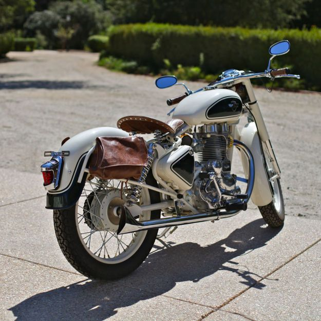For when I get my license!! I love the Chris Chappell's meticulously restored Royal Enfield Bullet 350.