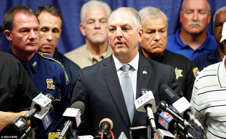 Governor of Louisiana John Bel Edwards made a passionate plea for the 'hatred to stop' following the shooting in Baton Rouge. I think he's talking to the wrong demographic here. Waste of time.
