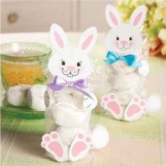 20 DIY Easter Bunny Projects including a link to instructions for making this very cute bunny mini-donuts treat ..So sweet!