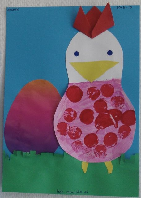 Chicken Craft for national fried chicken day!