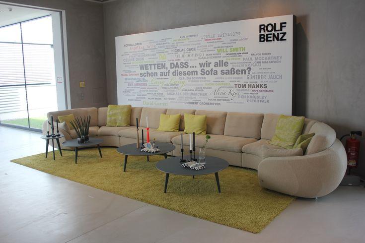 39 Wetten Dass 39 Sofa Bei Hausmesse Rolf Benz Rolf Benz Pinterest Sofas