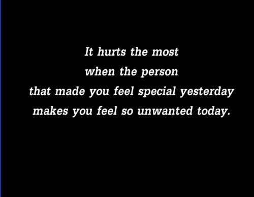 """You Make Me Feel So Special Quotes: #QUOTES#""""It Hurts The Most When The Person That Made You"""