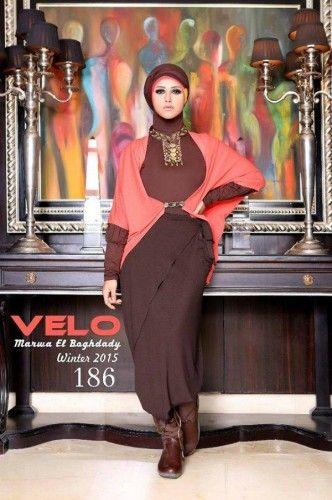 Marwa elboghdady winter hijab fashion 2015 | Just Trendy Girls