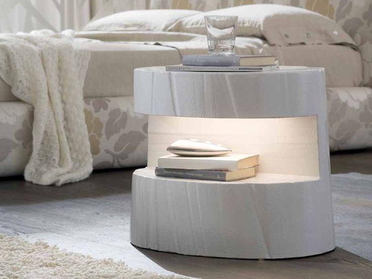 Прикроватная тумбочка для спальни - Tronky - http://mebelnews.com/prikrovatnaya-tumbochka-dlya-spalni-tronky