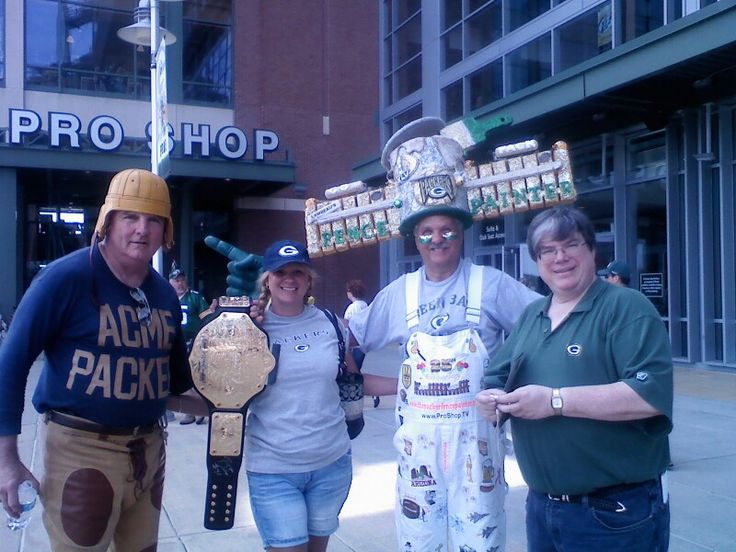 Me at the 2012 shareholders meeting! Go pack go, Acme