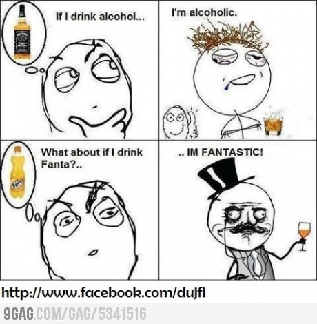 Clever ;): Funny Things, I M Fantastic, Funny Meme, Funny Picture, Funny Stuff, Humor, Drink Fanta, Drinks