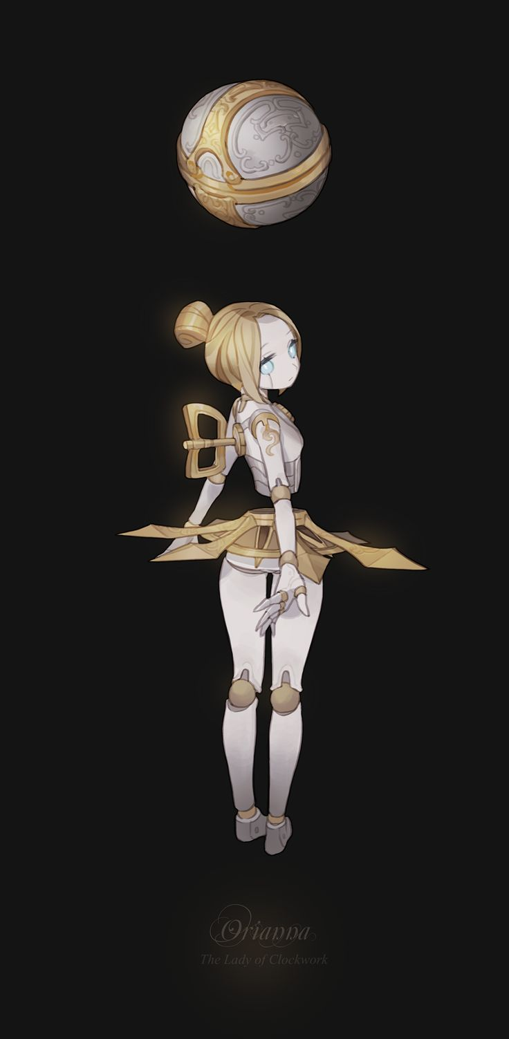 Orianna will forever be one of my favorite champions in League. I like this rendition of her, very cute!