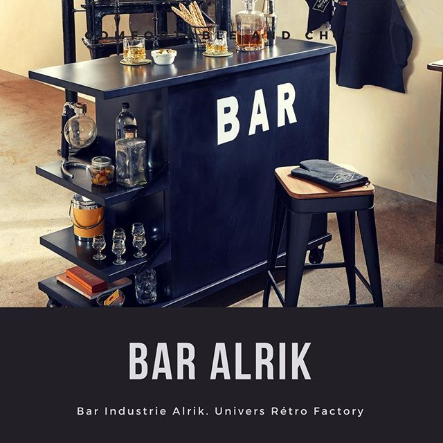 Bar Industrie Alrik Atmospheredeco Guadeloupe Decoration Deco Monatmosphere Homedeco Decoration Passiondeco Desi Decor Home Deco Kitchen Appliances