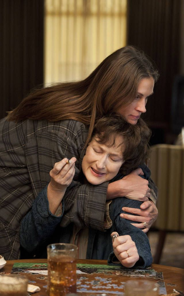 August Osage County - wow Meryl Streep was awesome & Julia Roberts was great as usual....Meryl needs an Oscar for this role!