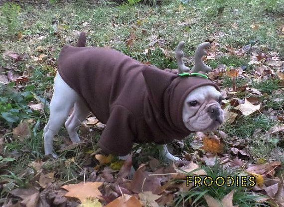 French Bulldog Boston Terrier Pug Dog Froodies by FroodiesHoodies