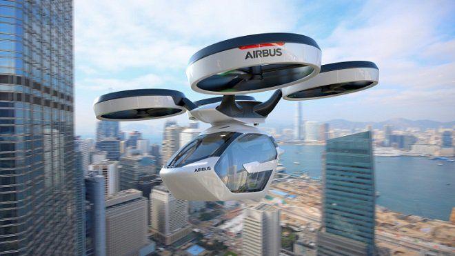 Avec Pop.Up, sa voiture volante électrique et autonome, Airbus rentre dans la course des véhicules futuristes... Et ça en jette !