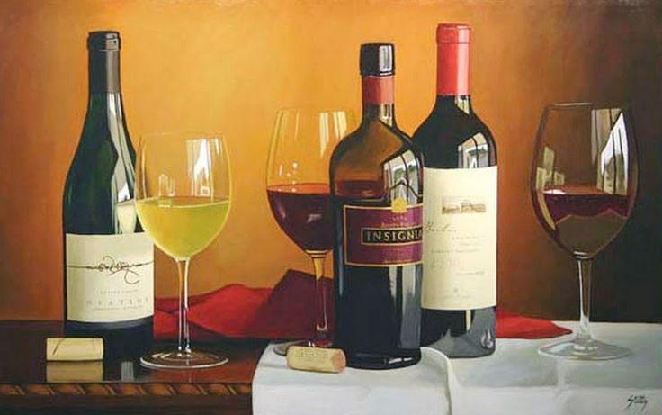bodegones de vinos