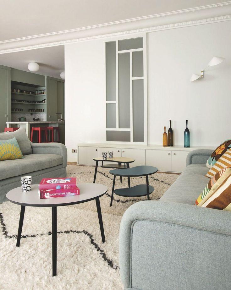 Appart Paris 16 : un appartement art déco rénové