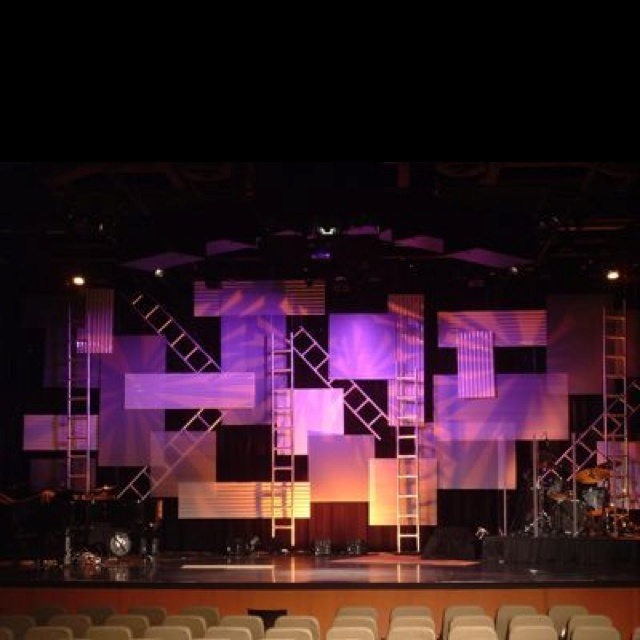 Church Ideas Stage Ideas Design Ideas Stage Set Church Decor