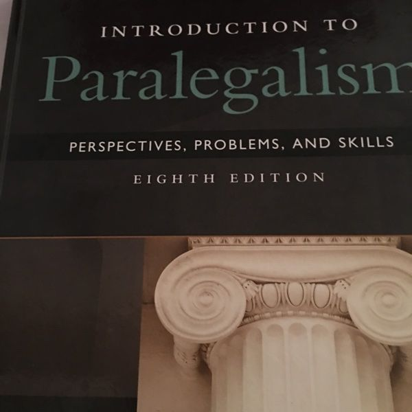 For Sale: PARALEGAL TEXTBOOKS for $175