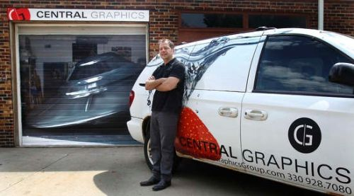 72 best vehicle wraps images on pinterest vehicle wraps for Garage wraps
