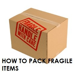 Four easy tips for #packing fragile items #moving