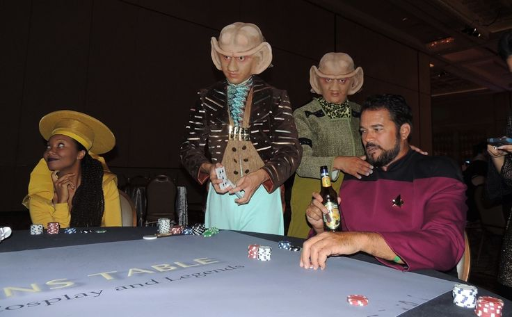 #‎Poker‬ is such a universal game that even the Ferengi play it!  ‪#‎StarTrek‬