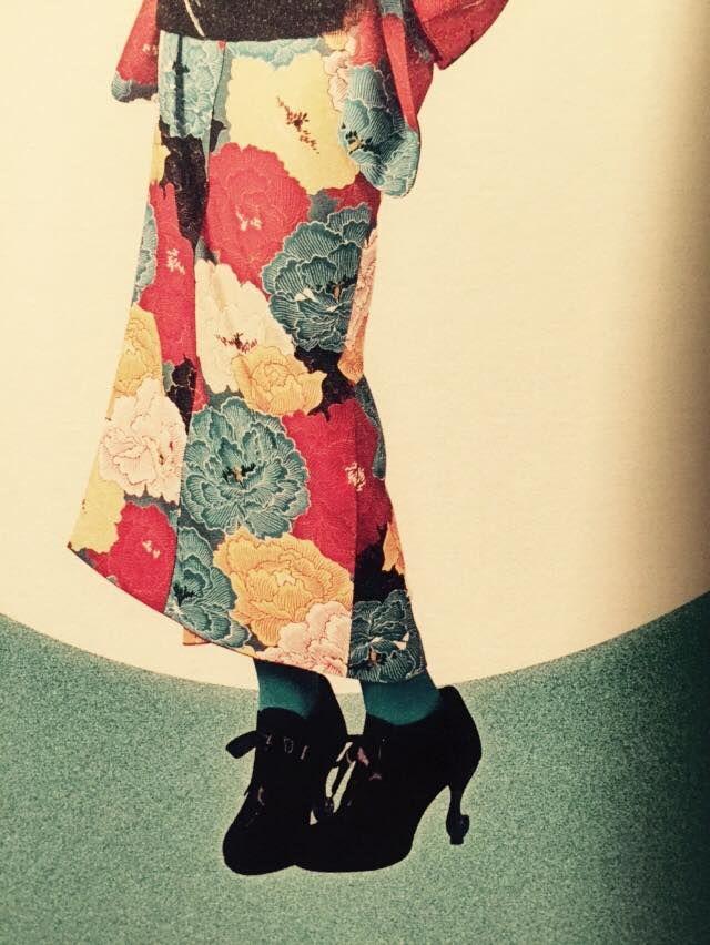 「こんなアレンジ知ってた?驚くほどかわいいアンティーク着物コーデのポイント♡」のまとめ枚目の画像|MERY [メリー]