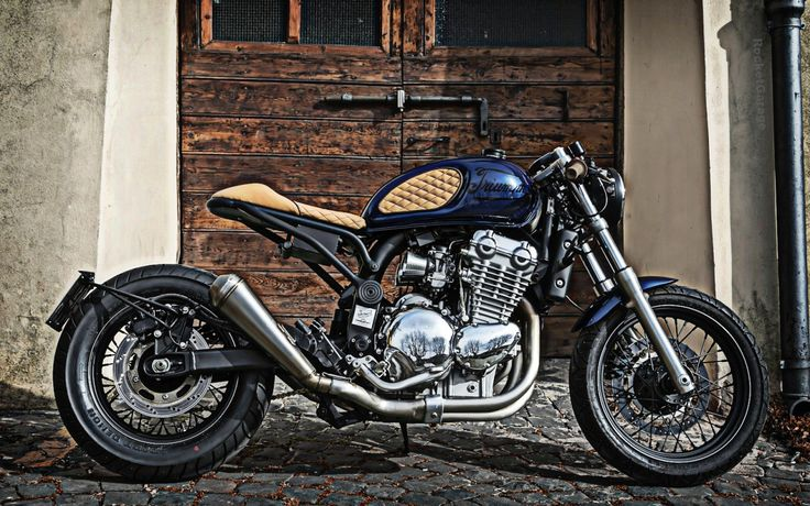 """Triumph Thunderbird Cafe Racer """"GRACE"""" by Puzzle Garage Roma #motorcycles #caferacer #motos 