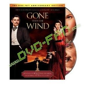 Gone with the Wind dvd wholesale Gone with the Wind Product Details Actors: Clark Gable, Vivien Leigh, Leslie Howard, Olivia De Havilland Directors: Victor Fleming Writers: Sidney Howard Producers: David O. Selznick Format: AC-3, Color, Dolby, Full Screen, NTSC, Original recording remastered, Special Edition, Subtitled Language: English Subtitles: English Region: Region 1 (U.S. and Canada only. Read more about DVD formats.) Aspect Ratio: 1.33:1 Number of discs: 2 Rated: NR (Not Rated)…