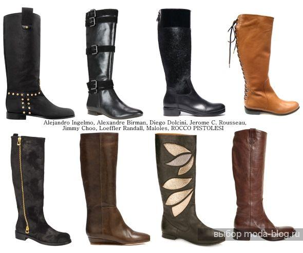 Модные туфли лодочки на каблуке