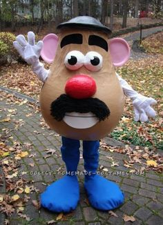Awesome Life-Sized Mr. Potato Head Costume... Coolest Halloween Costume Contest