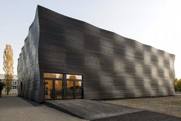 fachada madera carbonizada Fachadas de madera Pinterest - fachada madera