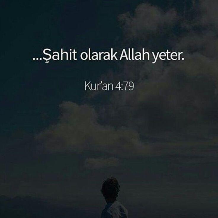 Allah cc YETER.  #yeter #Allah #islam #ayerler #ilmisuffa