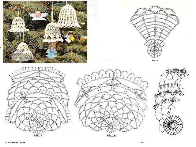 crochet navidad - angeles marin - Picasa Web Albums: Christmas Crochet, Christmas Crafts, Christmas Belle, Crochet Christmas, Crochetchristma, Christmas Projects, Natale Uncinetto, Crochet Belle, Adorno Navidad A Crochet