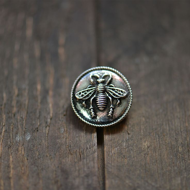 Honey Bee Button. Buy now at Nora Gray. Indiana boutique located in Berne, IN. www.nora-gray.com