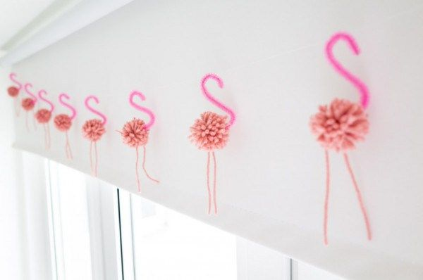 Nothing is more iconic than the pink flamingo in the summer on a beautiful green lawn. Why not bring the fun inside and make some cute little pink pompoms and pair them up with a pink pipe cleaner.…