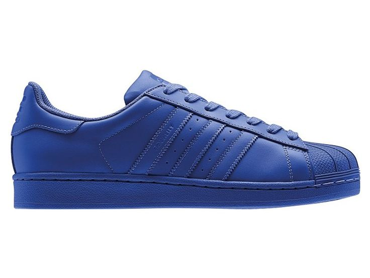 Adidas Superstar x Pharrell Williams Supercolor Originals Supercolor Pack  Pas Cher Pour Homme bleu S41814
