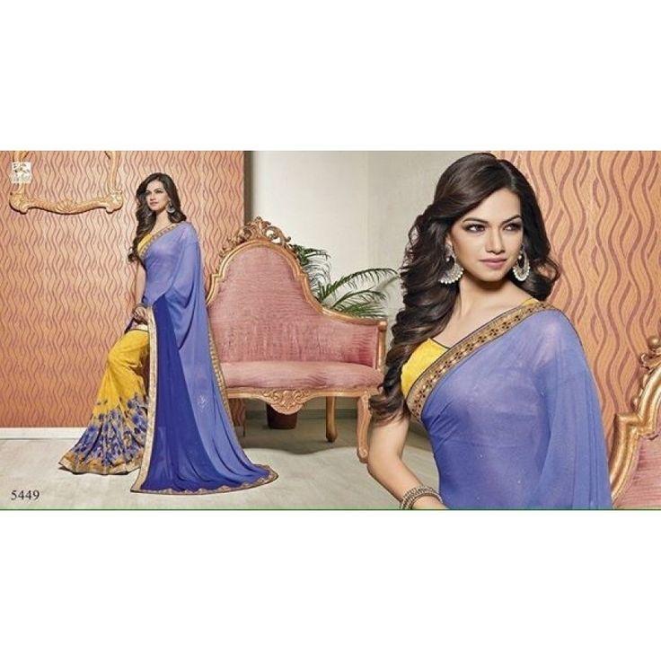 Desi style india saree
