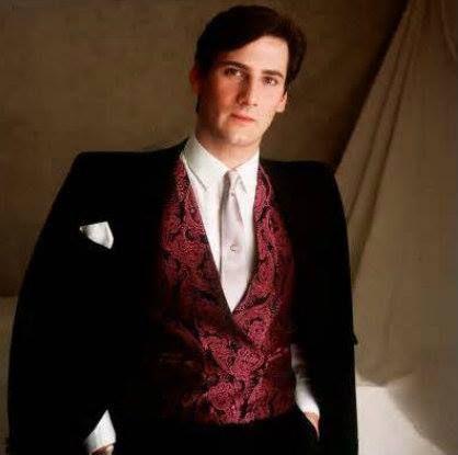 Tony Hadley of Spandau Ballet, Lead Singer c. 1983. TRUE and zoot suit era.