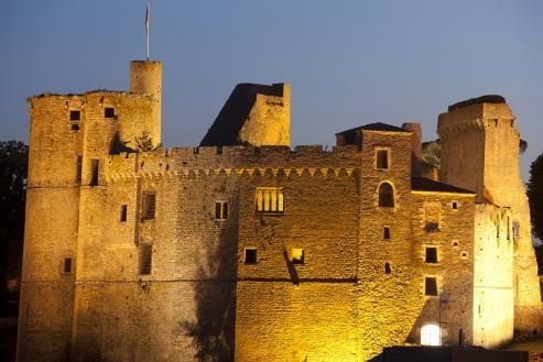 Kastell Klisson - Le château de Clisson se situe dans la ville de Clisson, Loire-Atlantique, Bretagne - Brittany