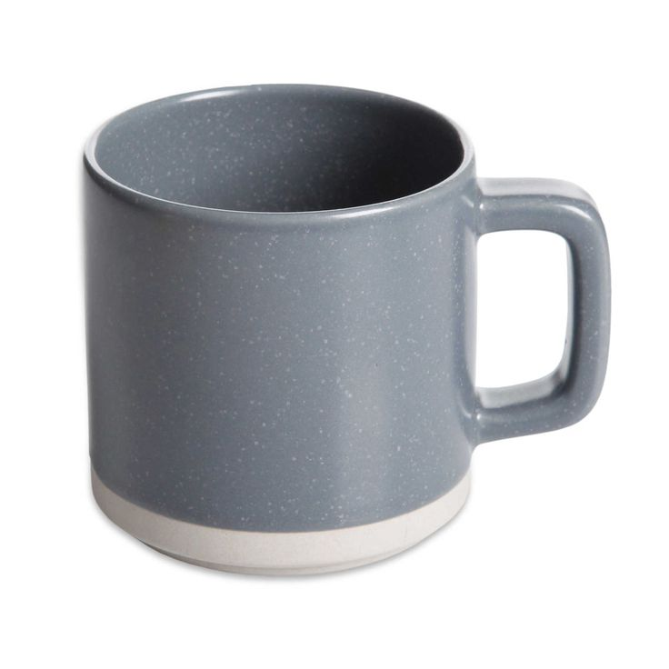 Artisanal Kitchen Supply® 13 oz. Edge Mug in Grey