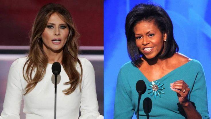 Melania Trump plagia parte del discurso de Michelle Obama de 2008   El Puntero