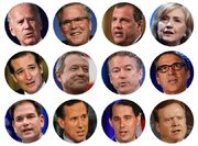 In Perception Primary, It's Folksy Hillary Clinton vs. Statesmen-Looking Jeb Bush and Marco Rubio