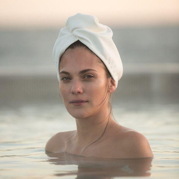 how to make a hair turban towel
