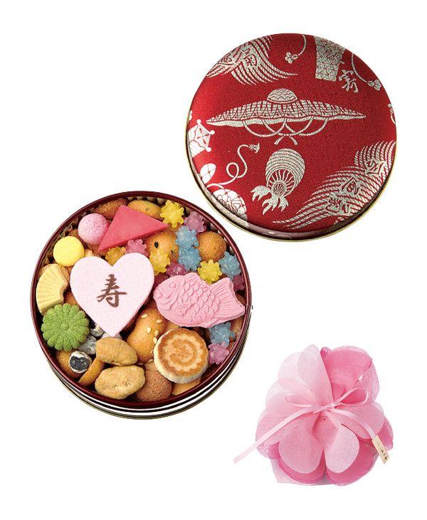 老舗の逸品から話題の新作まで 三つ星レストランから和菓子の老舗まで、美味しいものの宝庫といえる銀座。祝宴の日を彩るのにふさわしい引き菓子の数々を紹介します。