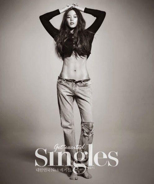 Jo Yoon Hee - Singles Magazine February Issue 2014
