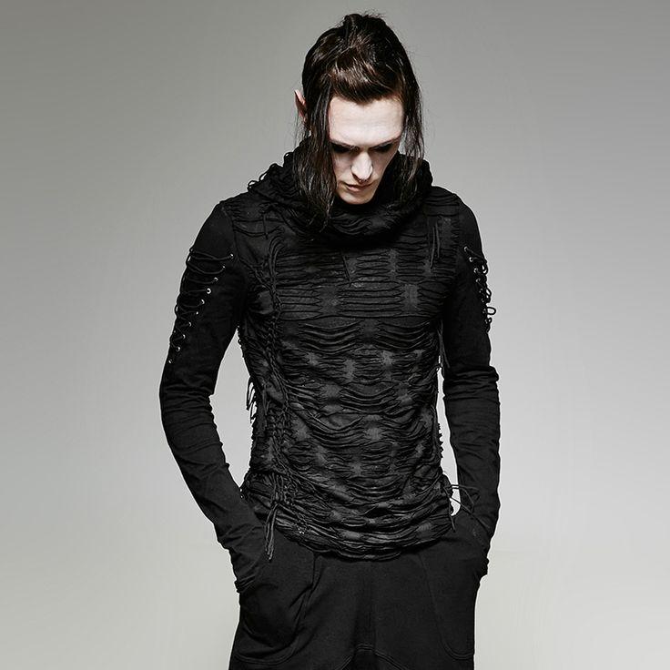 Gothic-/ Punk-Hoodie Borderline