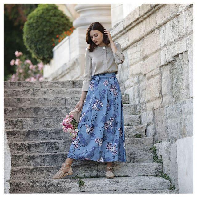 بيع الملابس التركية بالجملة والتقسيط على الانترنيت في المغرب تخفيضات على مواقع البيع على الأنترنيت في المغرب Modest Fashion Fashion Midi Skirt