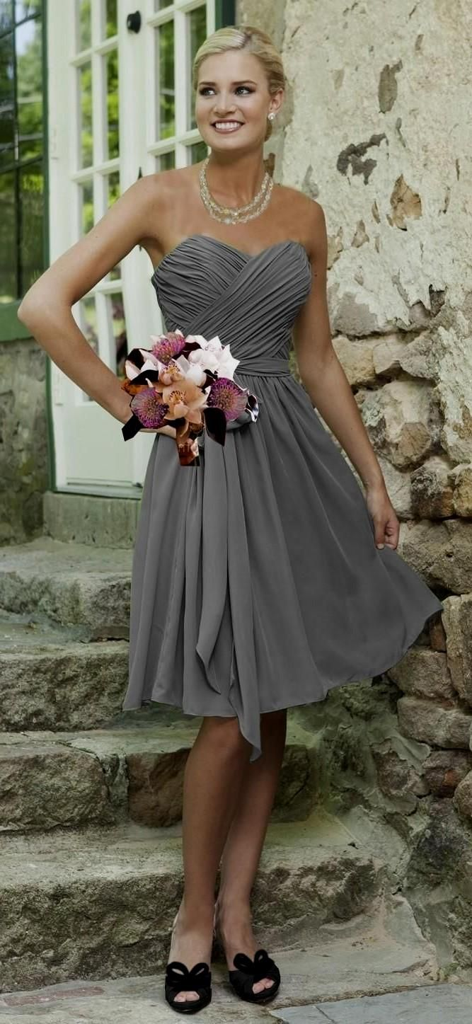 Best 25+ Silver grey bridesmaid dresses ideas on Pinterest ...