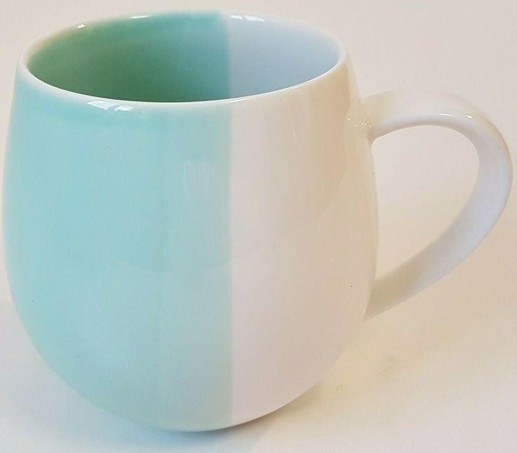 Robert Gordon Australia Two Tone Coffee Mug Green White ...