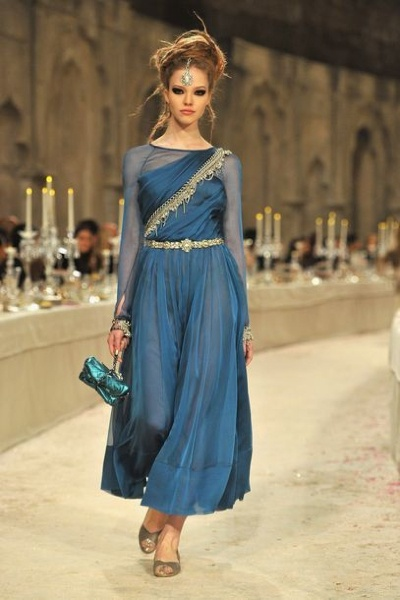 Chanel's Indian-Inspired Metier d'Arts 2012